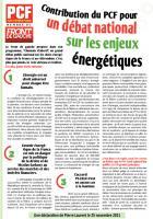 Energie : Halte à la hausse des prix et aux dérèglementations
