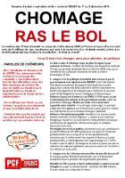 TRACT - CHOMAGE RAS LE BOL