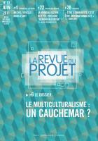 La revue du projet N°9 : le multiculturalisme : un cauchemar ?