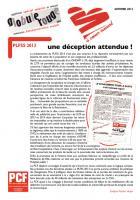 À coeur ouvert - Automne 2012 - PLFSS 2013, une HPST bis?, Sanofi, CHU de Rennes...
