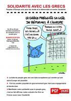 SOLIDARITE AVEC LES GRECS - Peuples d'Europe unis pour les droits et la démocratie et contre l'austérité