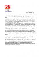 Sénatoriales (25-09-2011) Pourquoi une liste Front de Gauche