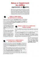 ARGUMENTAIRE - Emploi & compétitivité, les chiffres