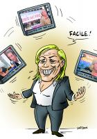 Extrême-droite / Médias - Jeux dangereux avec le Front national