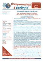Lettre n° 13 - Communime et écologie