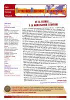 LRI - Juin 2012 - De la guerre... à la mobilisation citoyenne