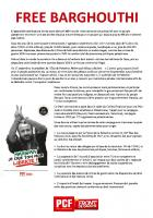 TRACT - Free Barghouti / Convergence Palestine