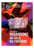 La revue du projet n° 17 : Migrations, au delà du fantasme