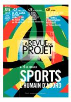 La revue du projet n° 18 : Sport$, l'humain d'abord