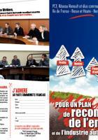 Renault, pour le développement de l'industrie automobile et de l'emploi dans les régions Ile de France et haute et basse Normandie