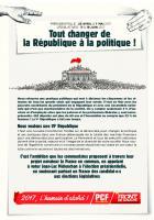 Tout changer de la République à la politique