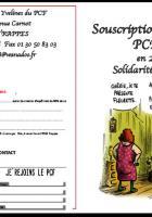 Souscription militante - Produits Fin d'année solidaires