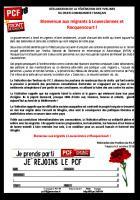 Bienvenue aux migrants à Louveciennes et Rocquencourt !