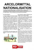 ARCELOR-MITTAL NATIONALISATION