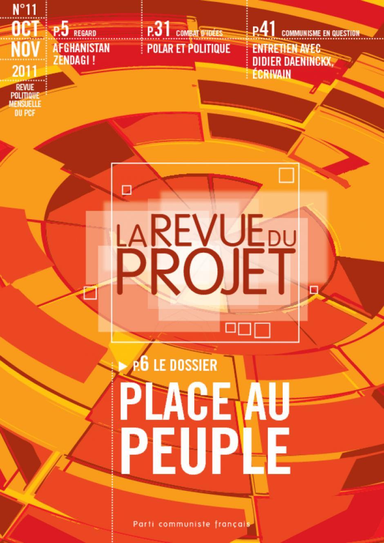 La revue du projet N°11 : Place au peuple