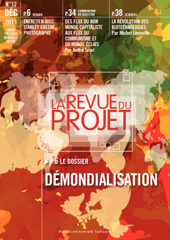 La revue du projet N°12 : Démondialisation