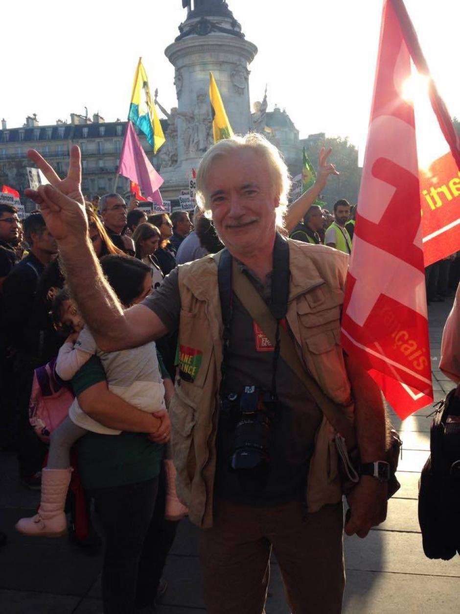 Engagé nationalement et dans son quartier de Nanterre, André Landrain était aussi de toutes les luttes au coté des sans-papiers