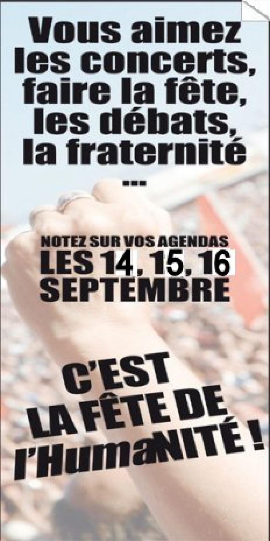 14, 15 et 16 Septembre 2012 Fête de l'Huma : comment s'y rendre ?