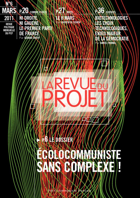 La revue du projet N°6 écolocommuniste, sans complexe !