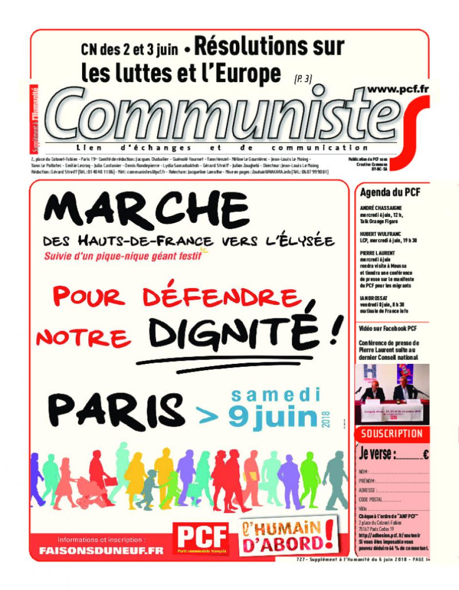 Journal CommunisteS n°727