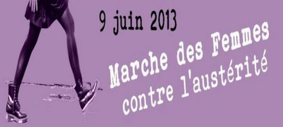 Marche des femmes contre l'austérité