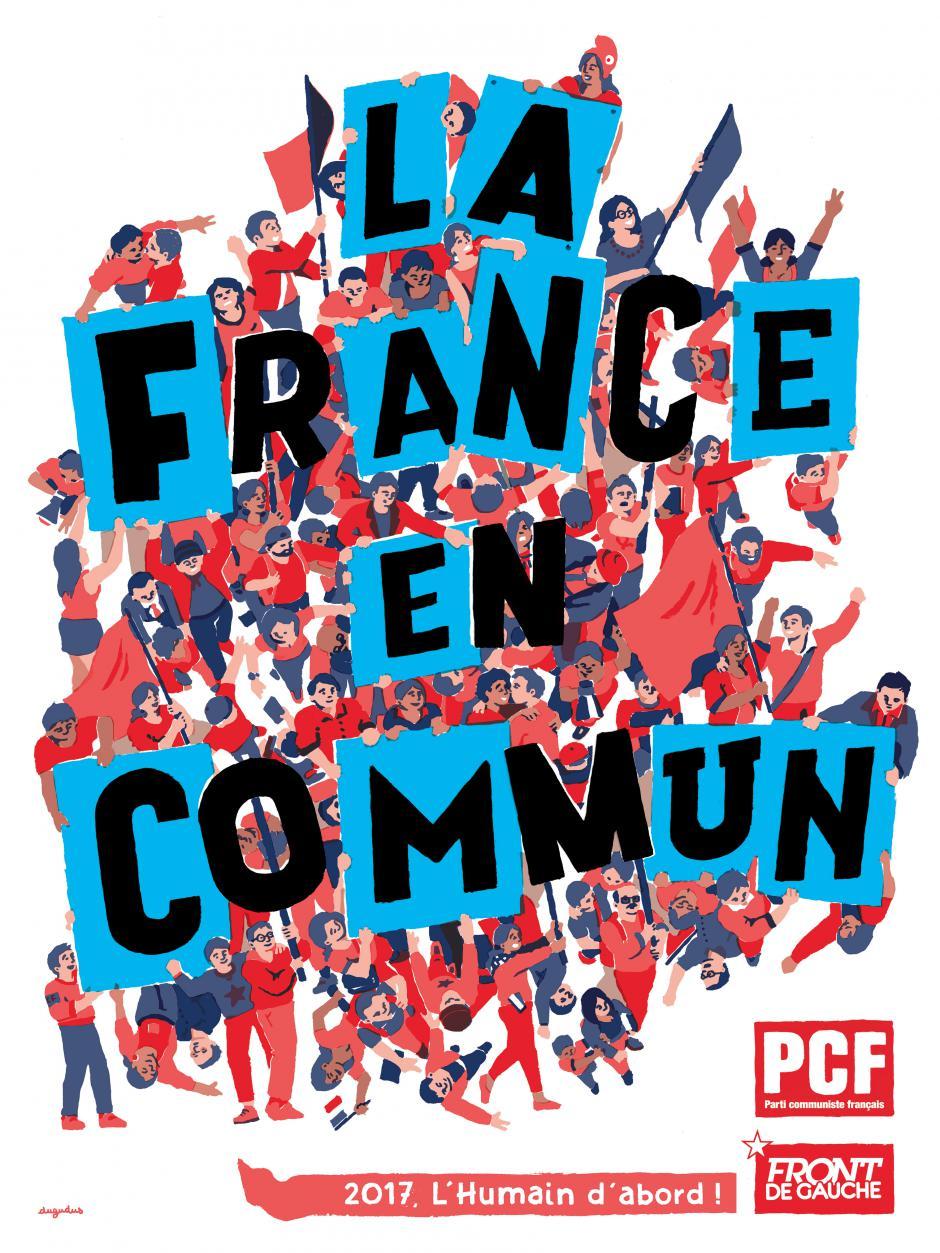Affiche 2017 - La France en commun