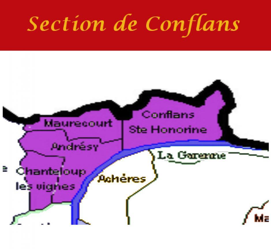 Section PCF de CONFLANS