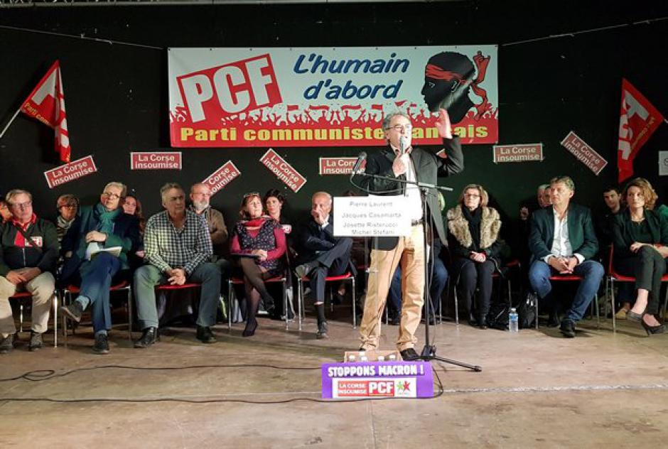 Election en Corse : réaction du PCF