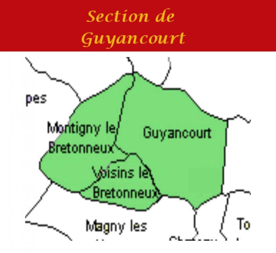 Section PCF de GUYANCOURT - MONTIGNY - VOISINS