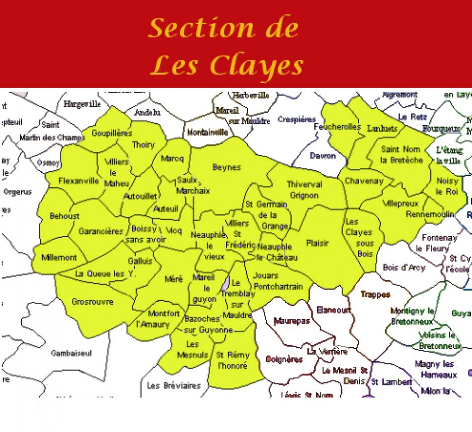 Section PCF-Les Clayes-Plaisir