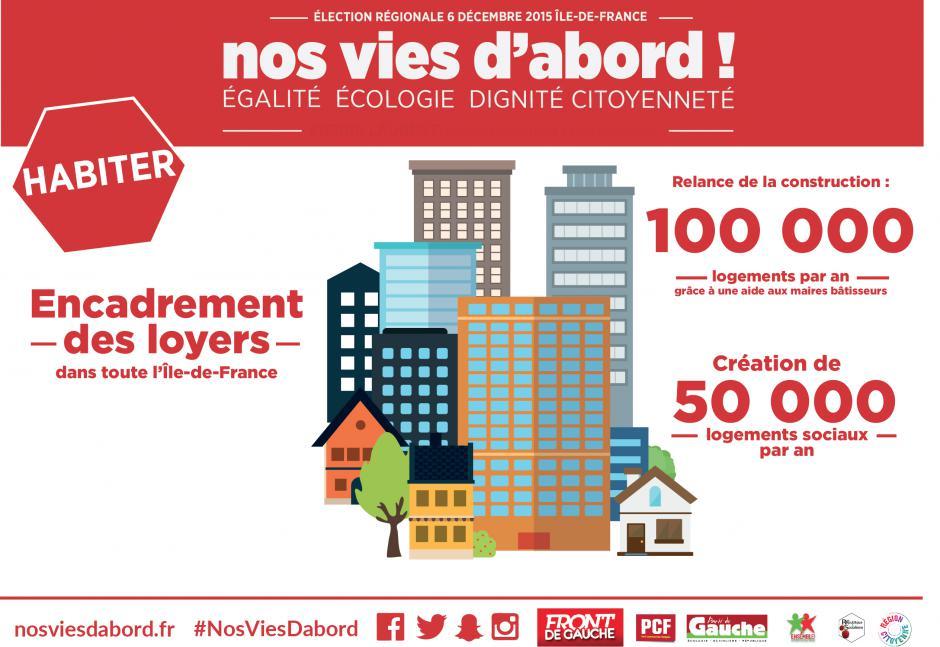 Pierre Laurent avec les associations de locataires - Les Mureaux 23-11-2015