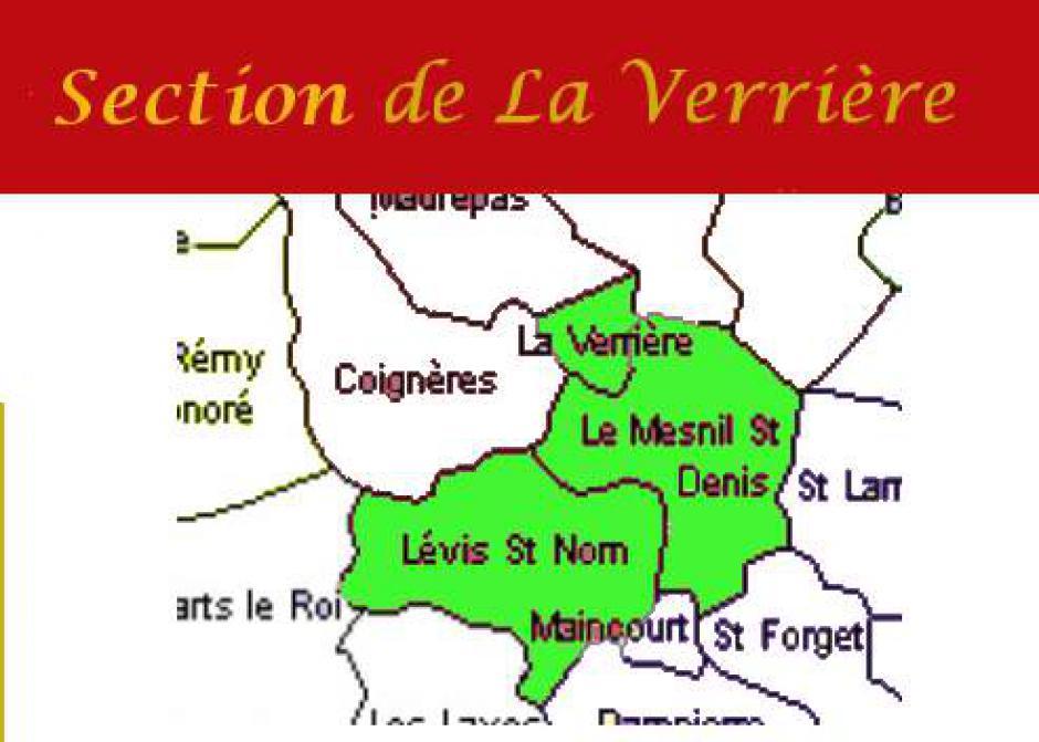Section PCF La Verrière