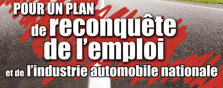 RENAULT : Pour le développement de l'industrie automobile et de l'emploi