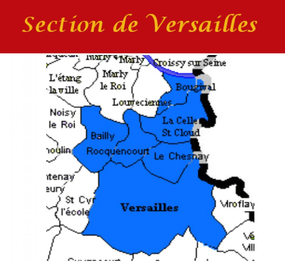 Section PCF de VERSAILLES